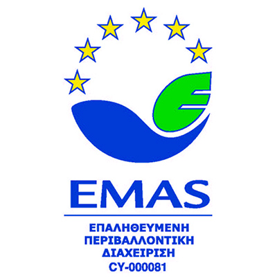 ES Vascular is inserted in the EMAS registry maintained by the Cyprus Environmental Department